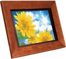 """Aluratek 11"""" hi-res digital picture frame."""