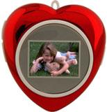 "1.1"" Tricod Heart-Shaped DigiFrame"