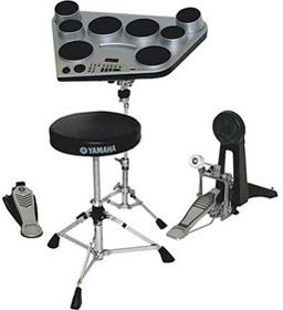 Yamaha DD-65 - Compact Digital Drum Kit with DK-65 Bundle