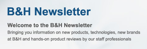 Welcome to th B&H Newsletter!