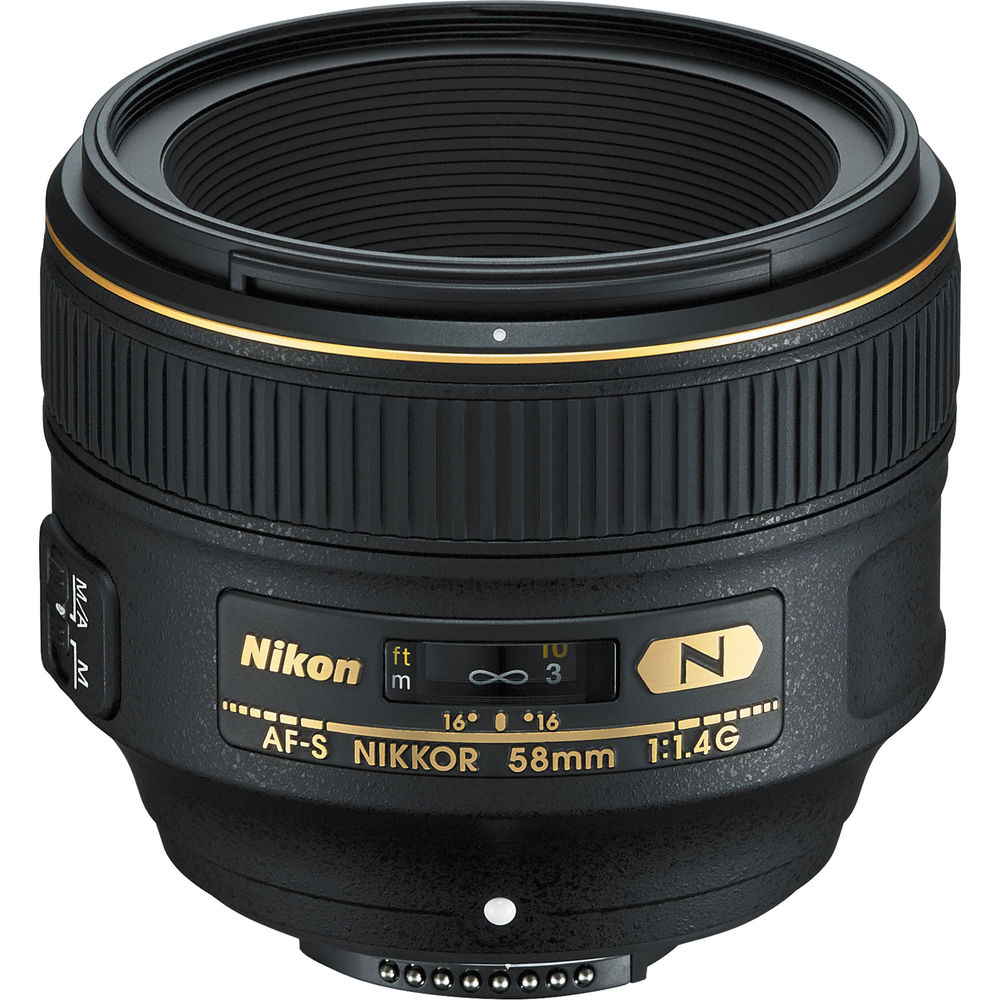 image of Nikon AF-S 58mm f/1.4G