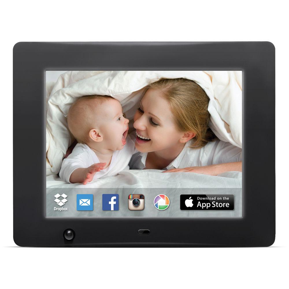 Nixplay Nixplay Pro Cloud Wifi Digital Picture Frame W08b B Amp H