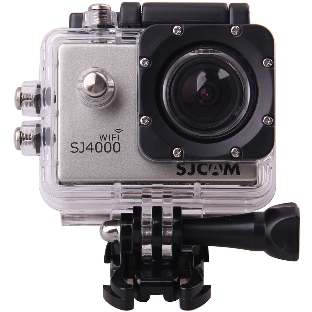 SJCAM SJ4000 Action Camera with WiFi Silver SJ4000WFS Bamp;H
