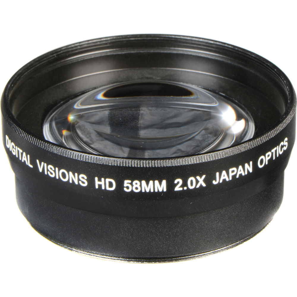 bower pro 2x hd telephoto conversion lens for 58mm lenses