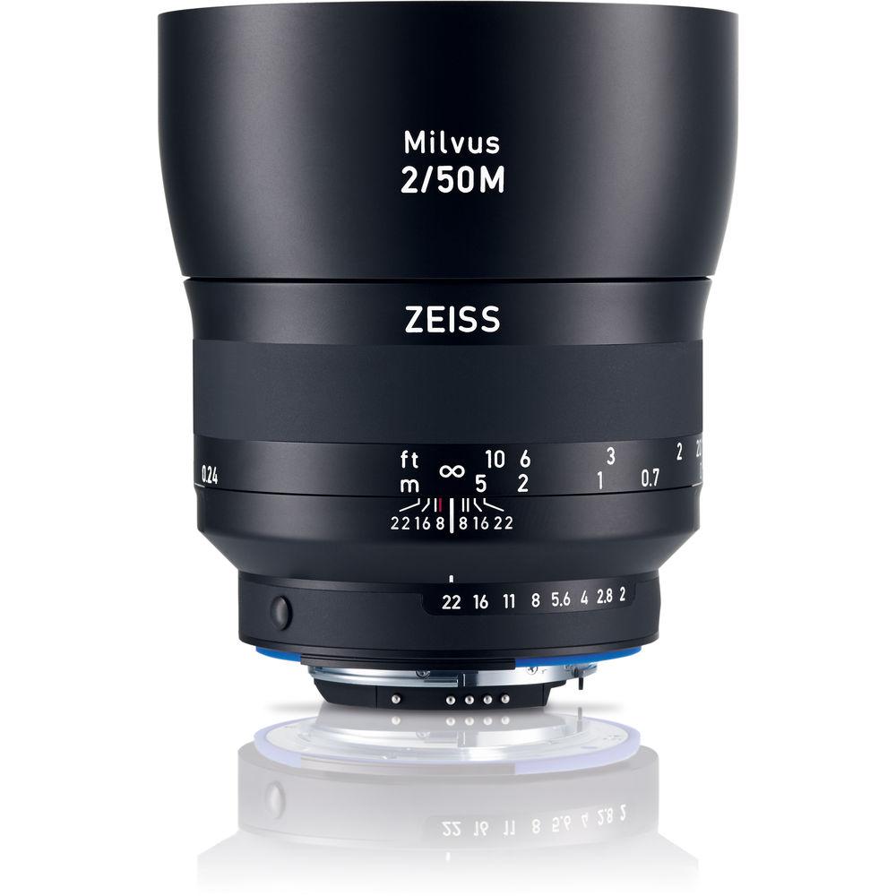 image of Zeiss Milvus 50mm f/2M