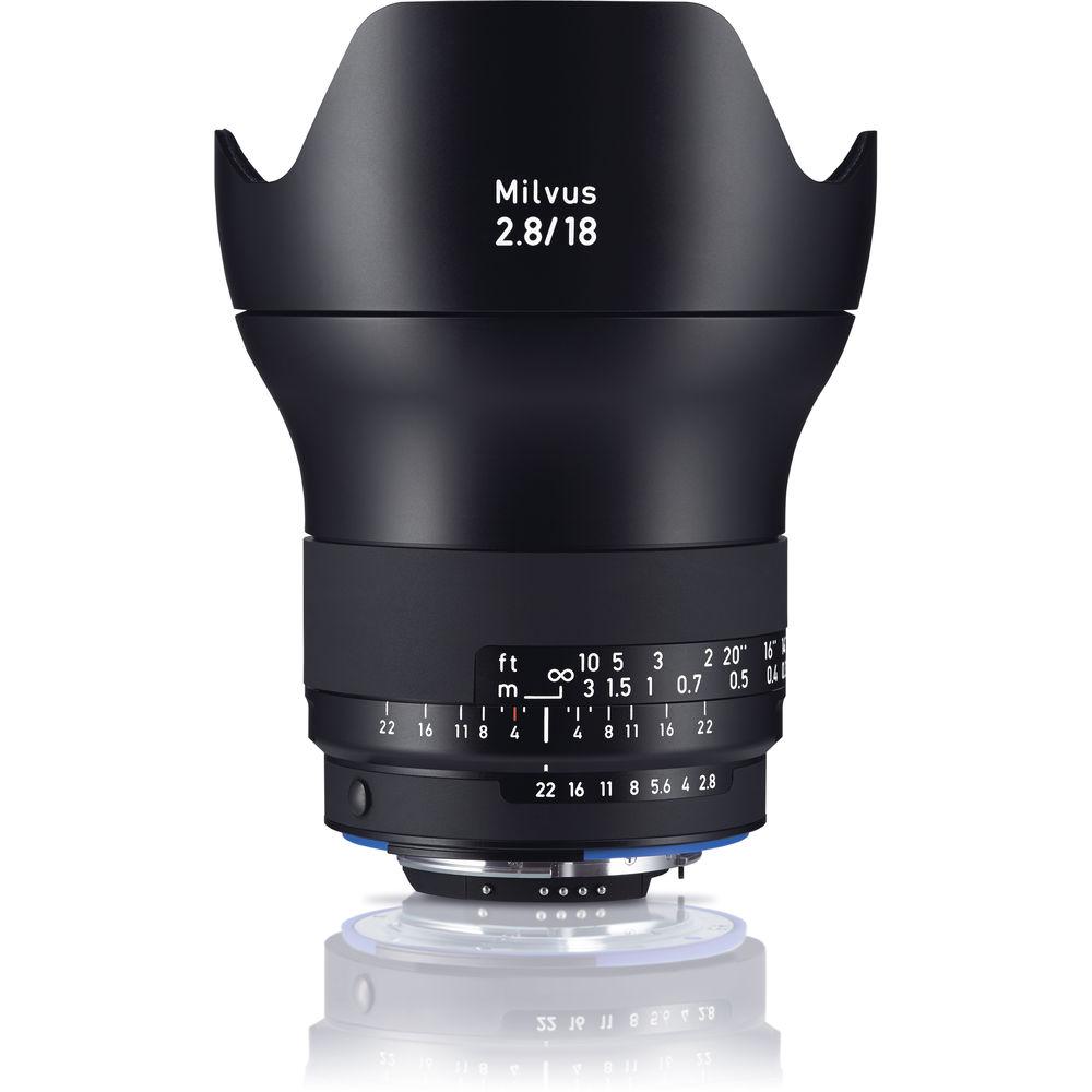 image of Zeiss Milvus 18mm f/2.8