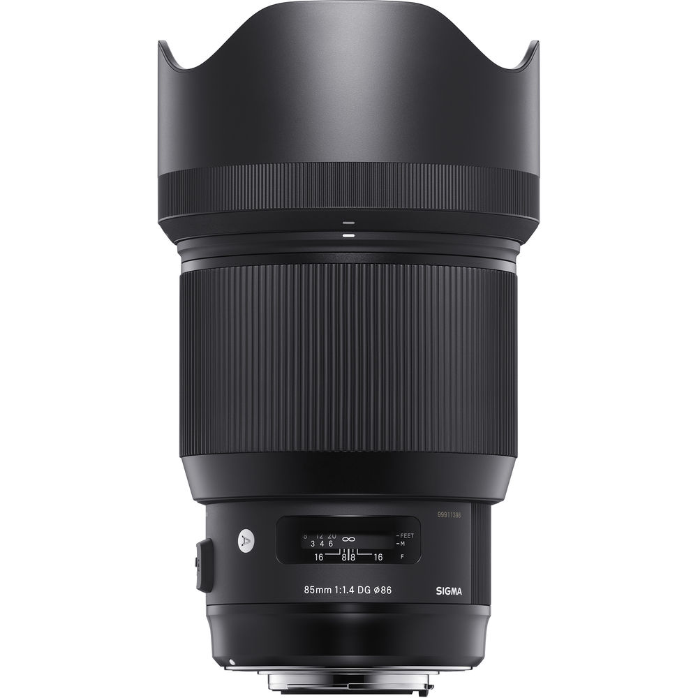 image of Sigma 85mm f/1.4 DG HSM Art