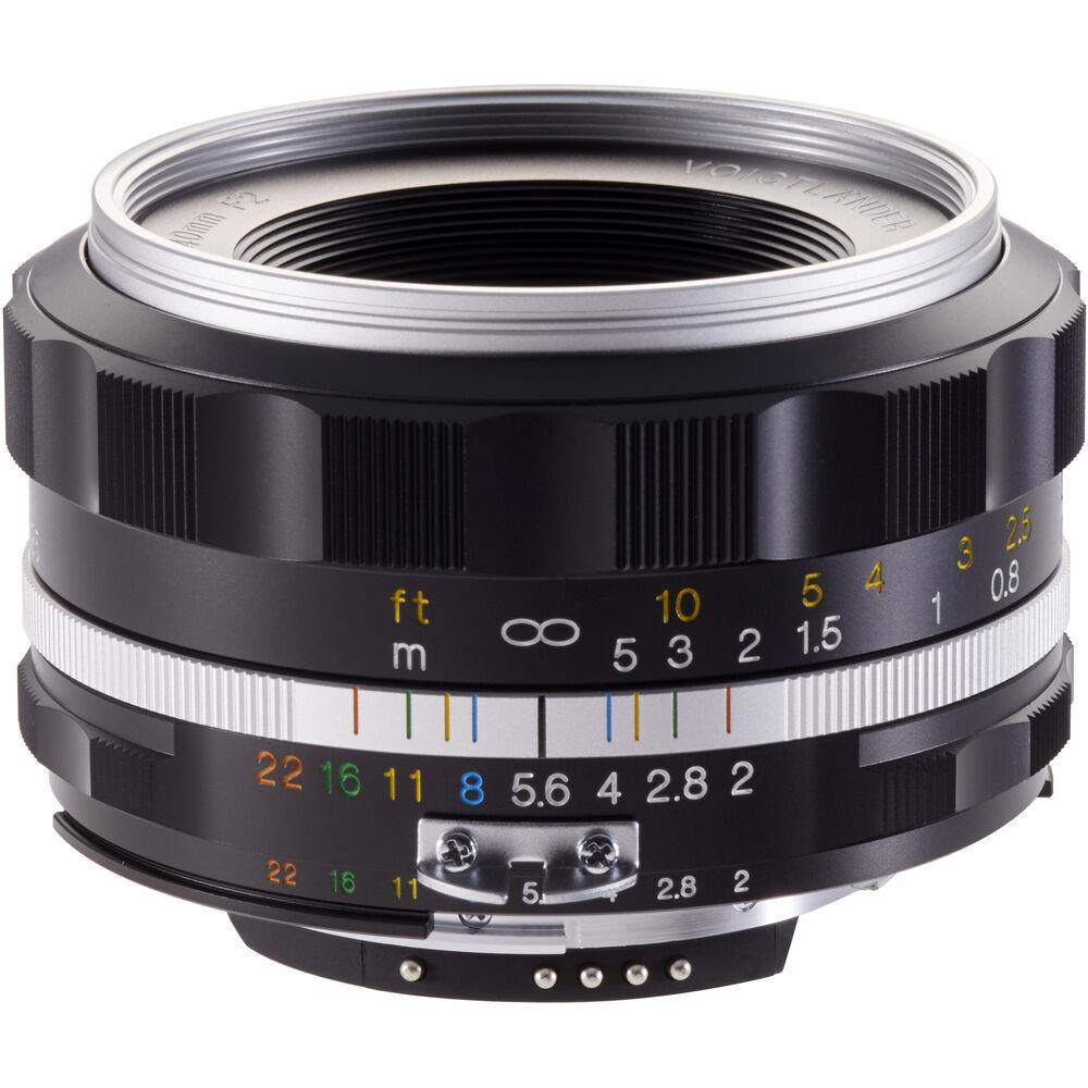 image of Voigtlander Ultron 40mm f/2 SL II Aspherical
