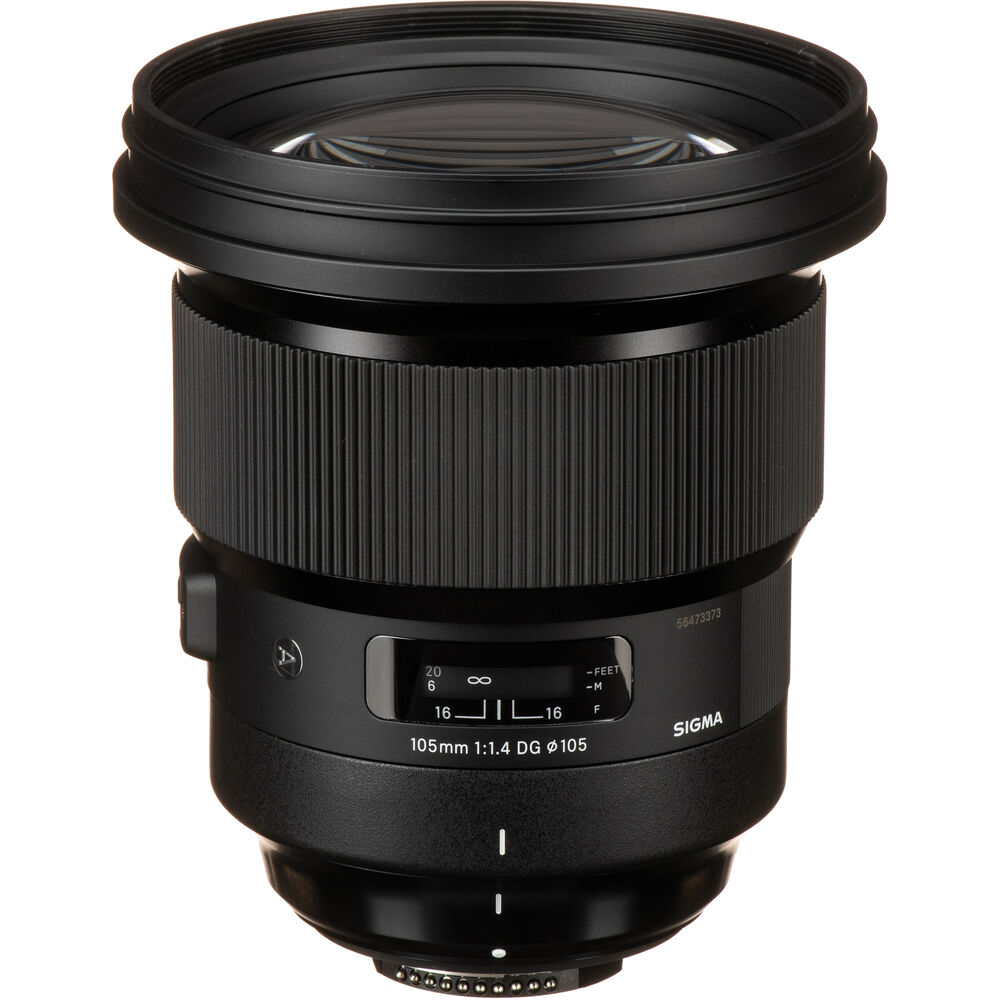 image of Sigma 105mm f/1.4 DG HSM Art