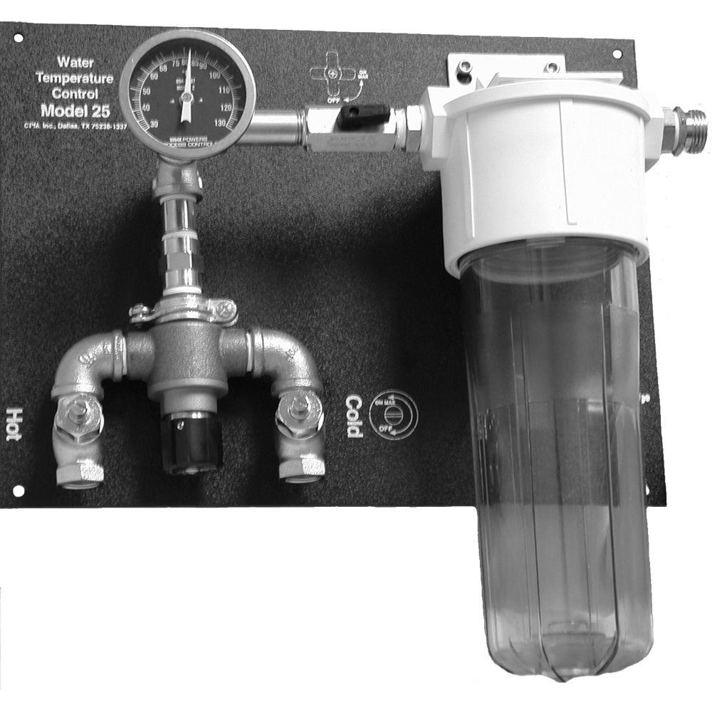 Delta 1 Model 25 Water Control Panel