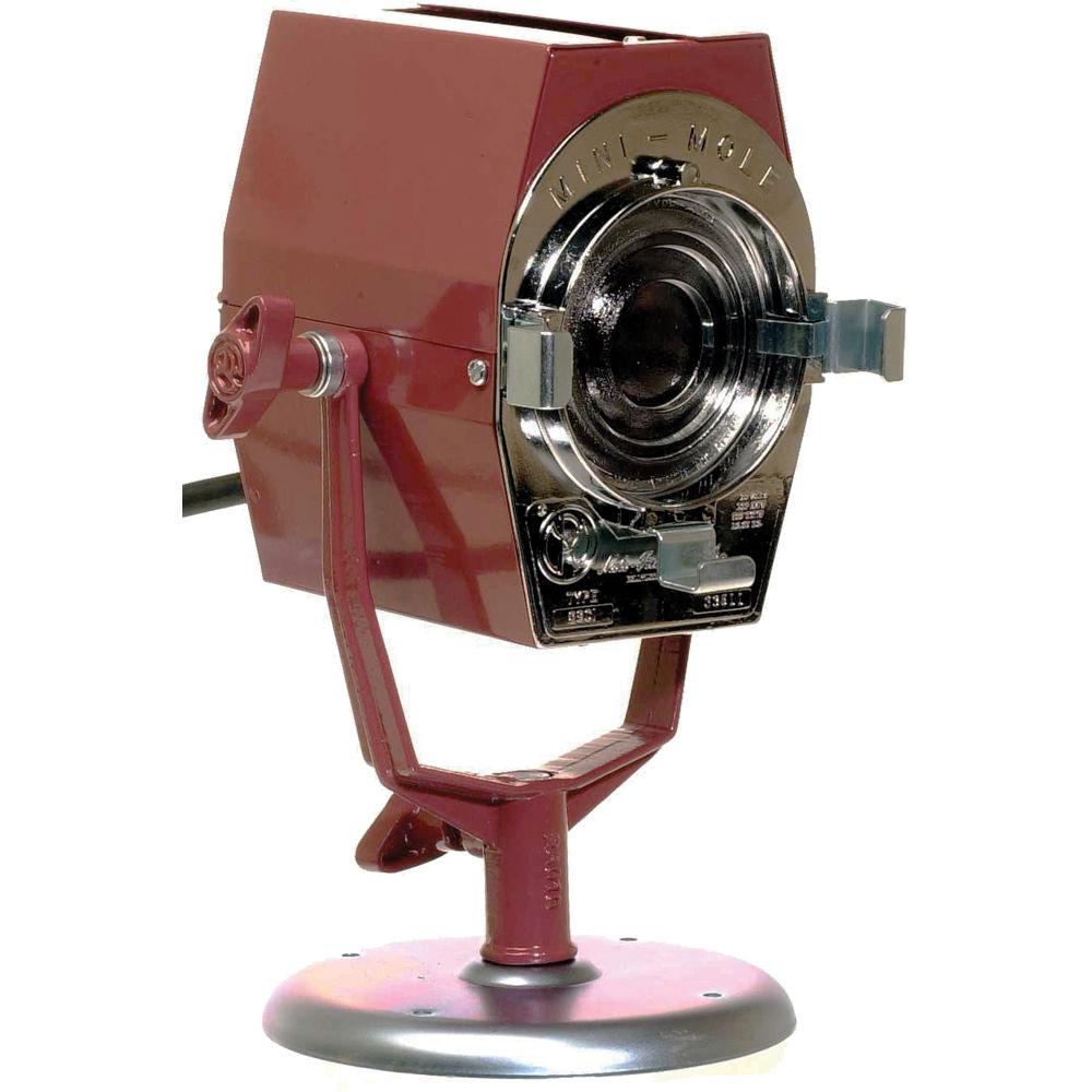 Mole Richardson Zip Light: Mole-Richardson Mini-Mole Fresnel Tungsten Light 2801 B&H