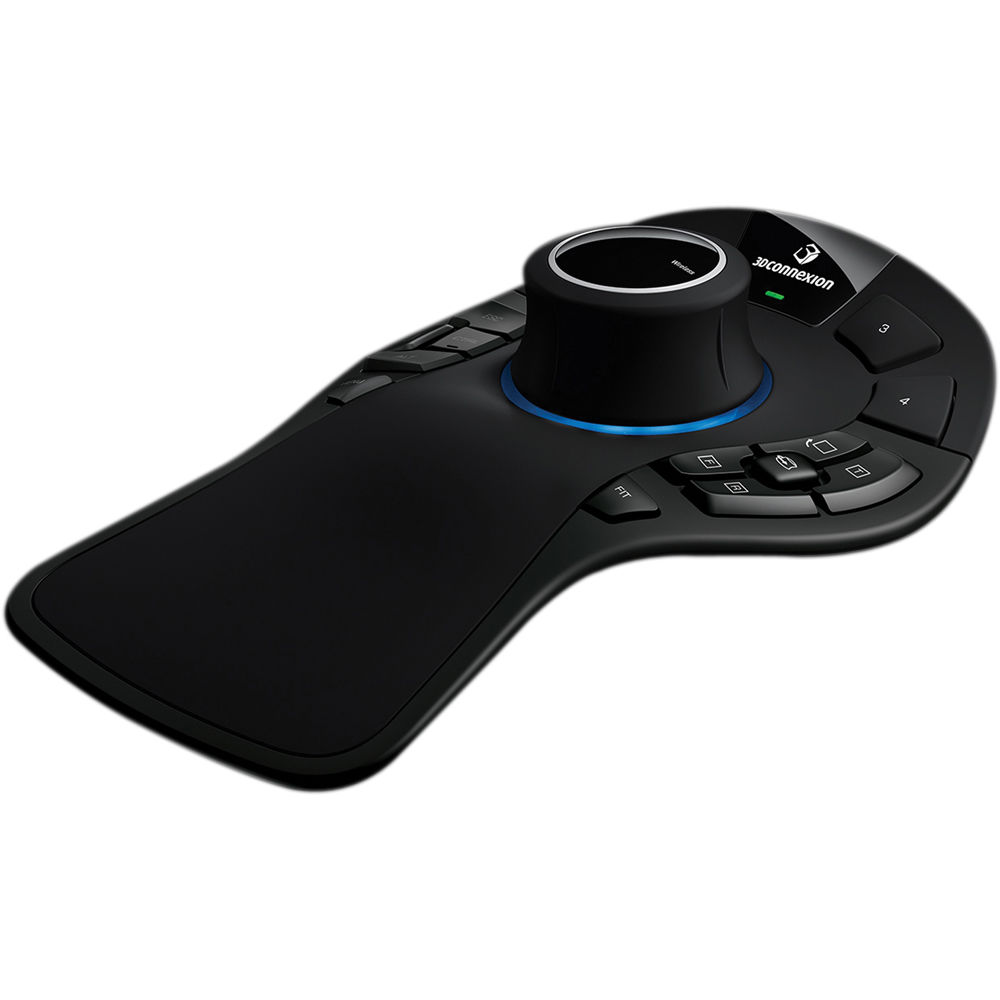 3Dconnexion SpaceMouse Pro Wireless 3D Mouse 3DX-700049 B&H