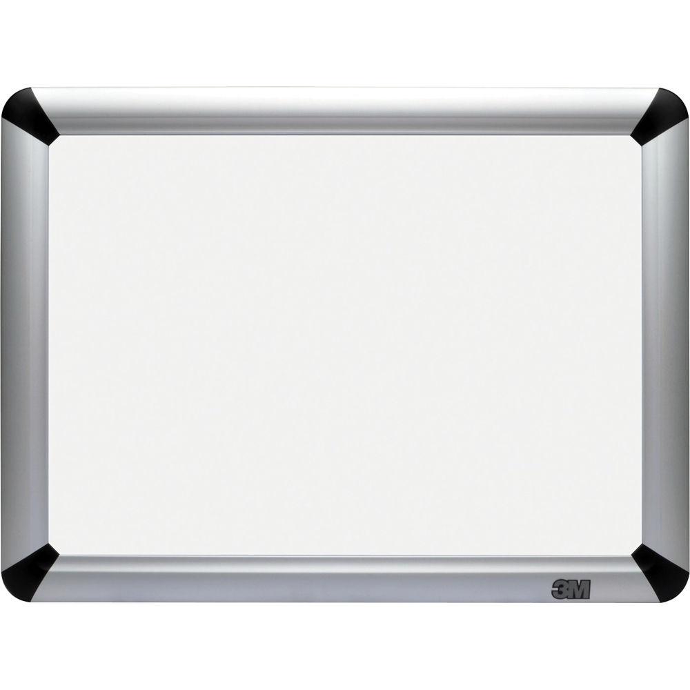 3m des1612fa 16 x 12 melamine dry erase board aluminum frame