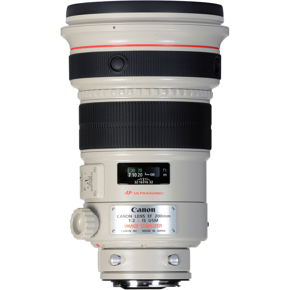 image of Canon EF 200mm f/2L IS