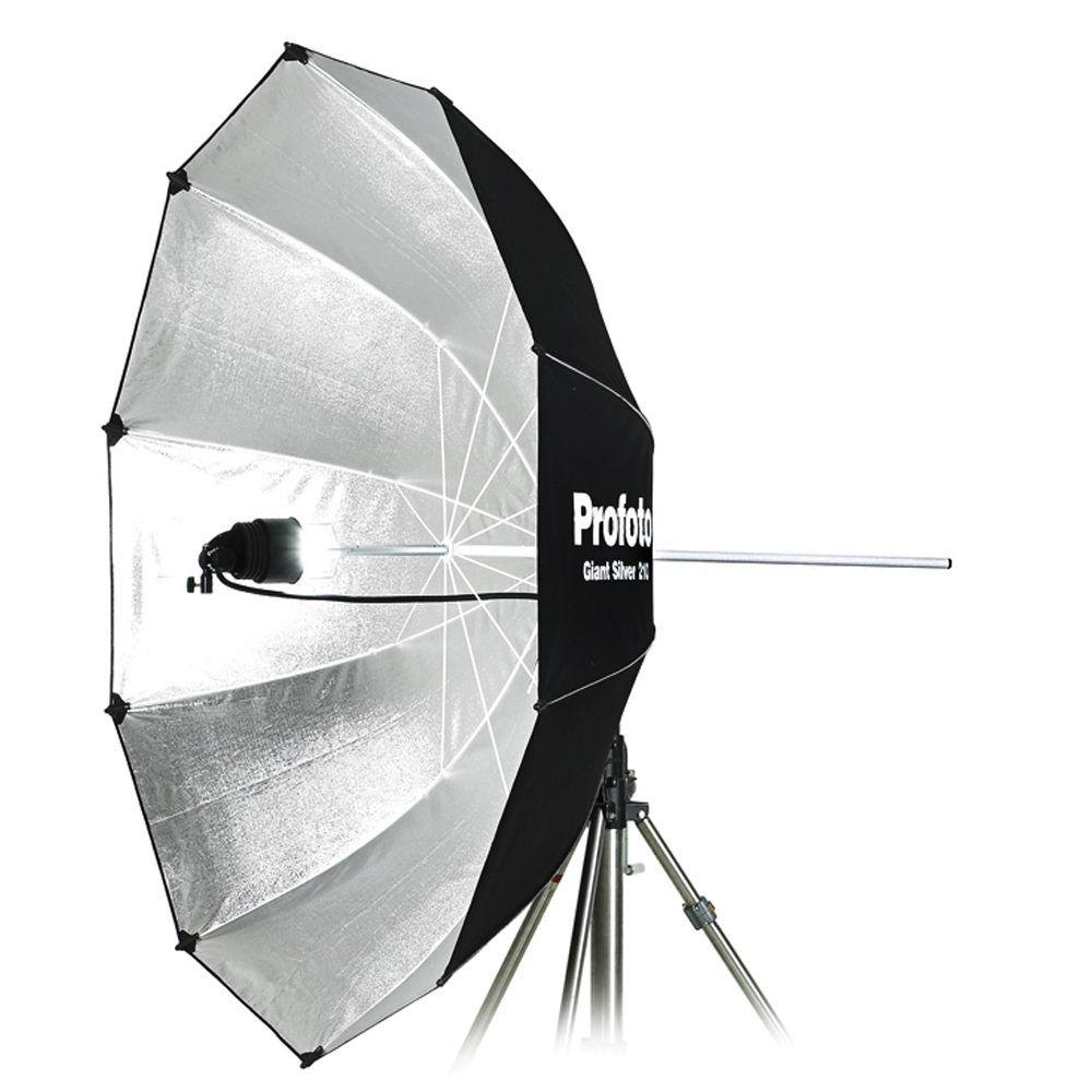 Profoto Giant Umbrella Silver 7 210 Cm 100317 B Amp H Photo