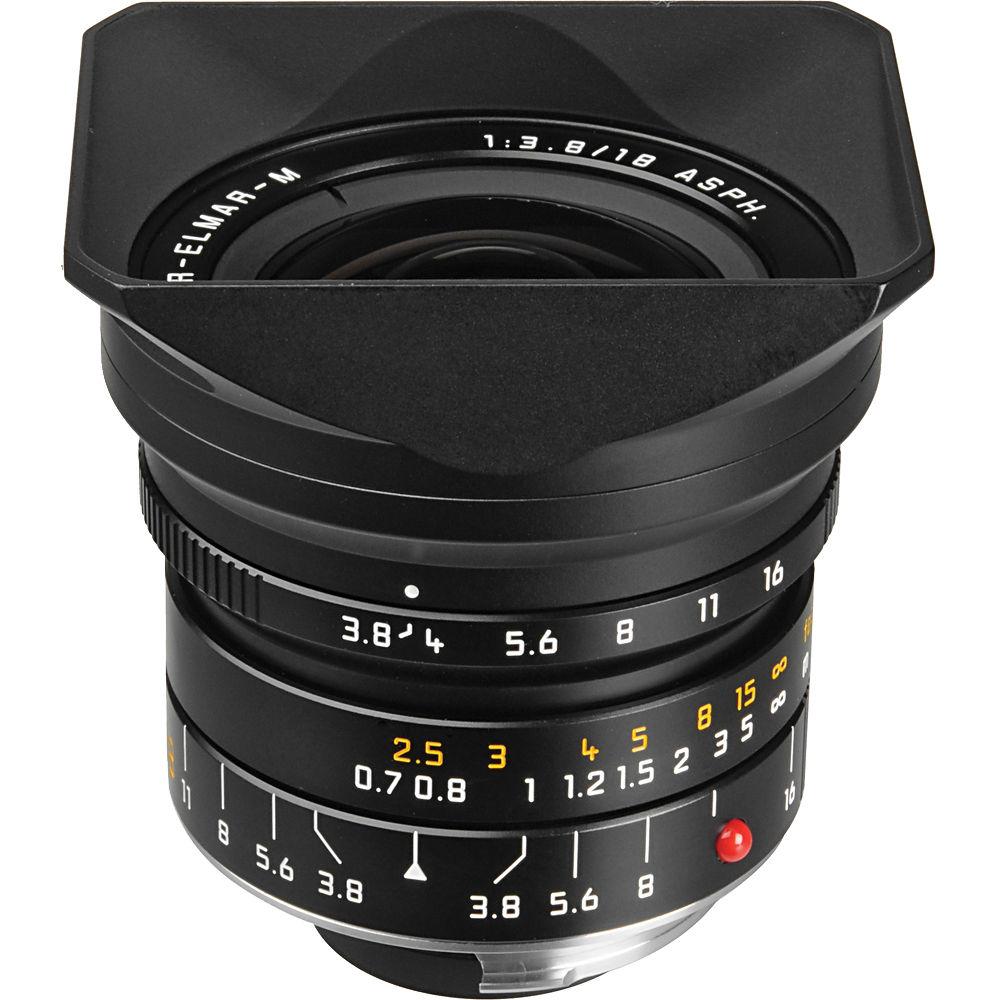 image of Leica 18mm f/3.8 Super-Elmar-M ASPH