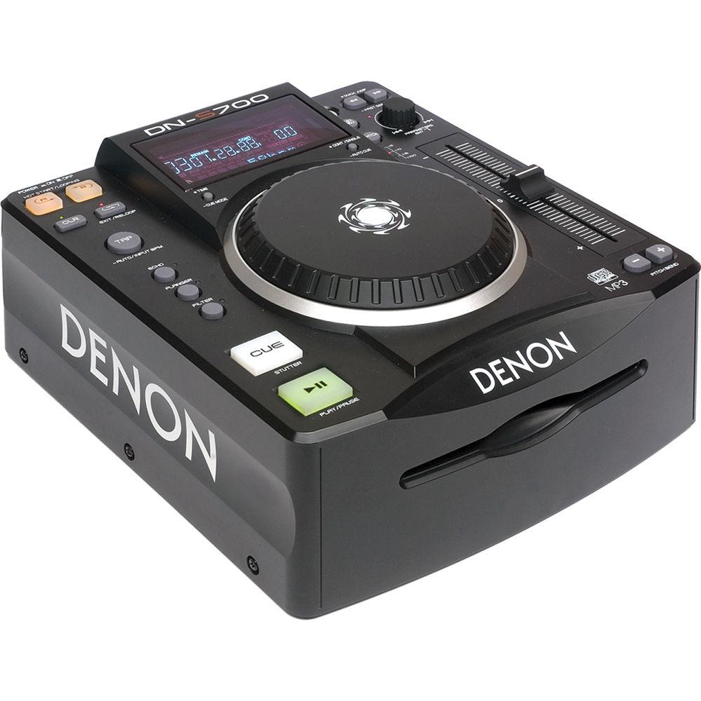 denon dj dn s700 compact tabletop cd mp3 disc player dn s700 b h. Black Bedroom Furniture Sets. Home Design Ideas