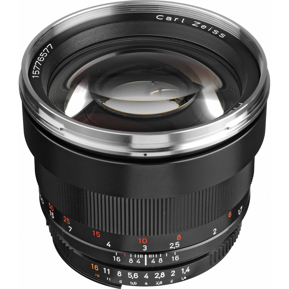 image of Zeiss 85mm f/1.4 Planar