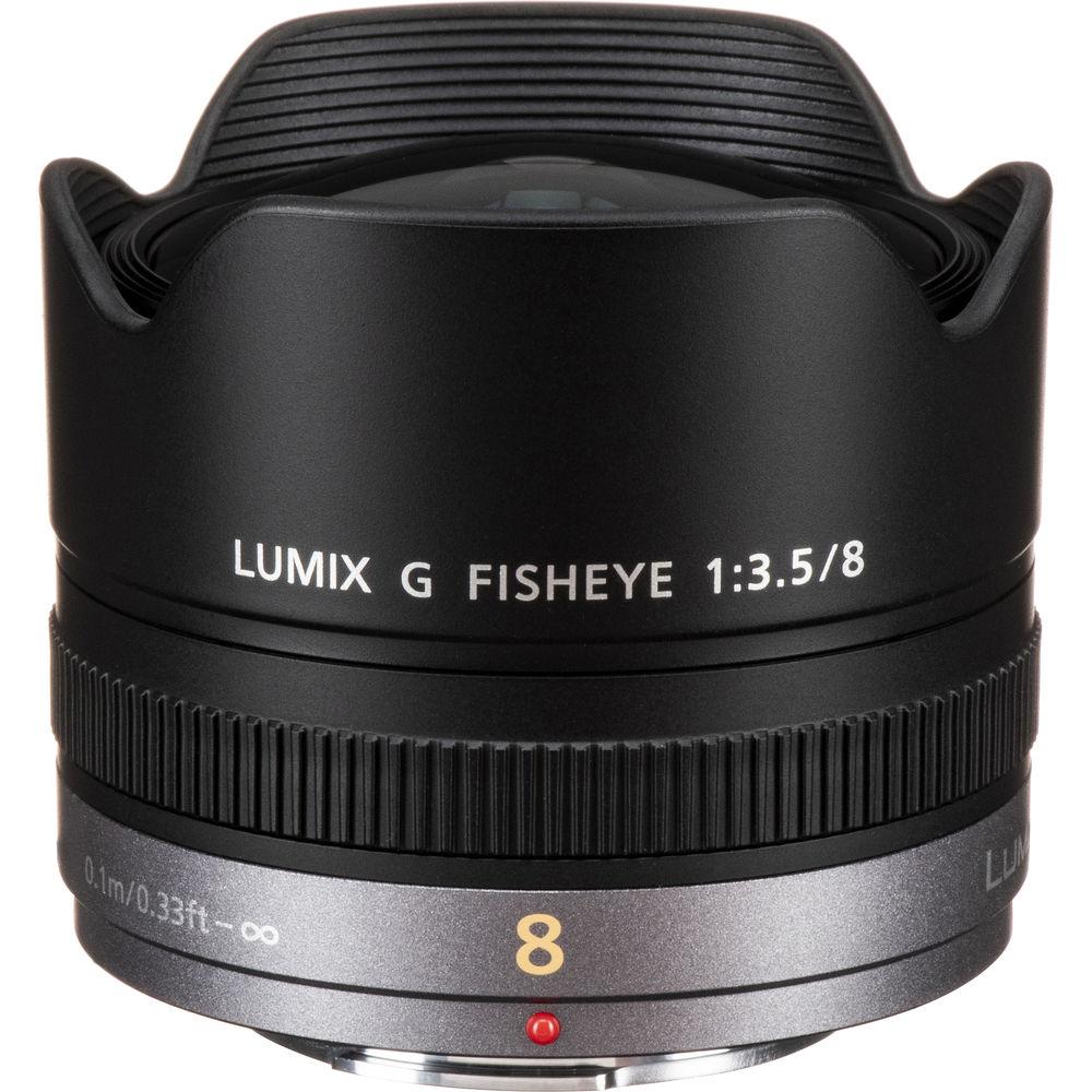 image of Panasonic Lumix G 8mm f/3.5 Fisheye