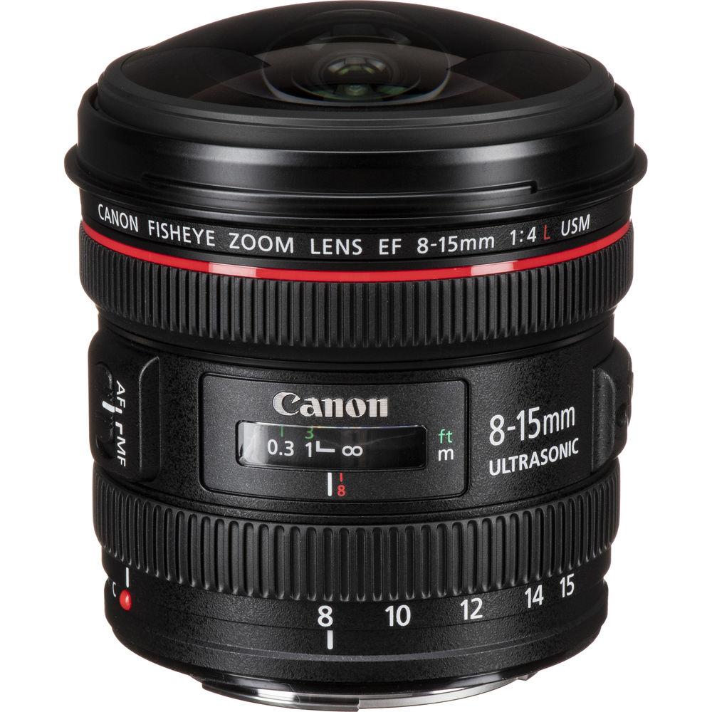 image of Canon EF 8-15mm f/4L Fisheye Zoom