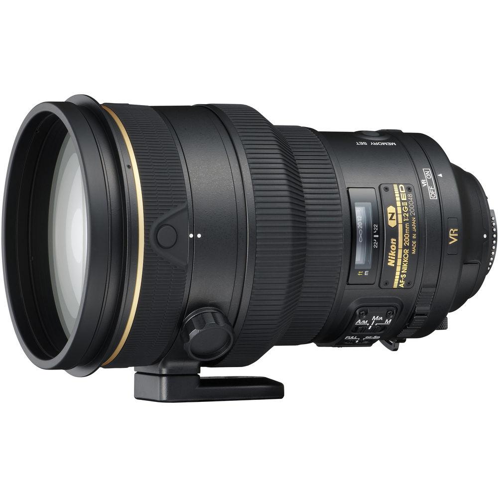image of Nikon AF-S 200mm f/2 ED