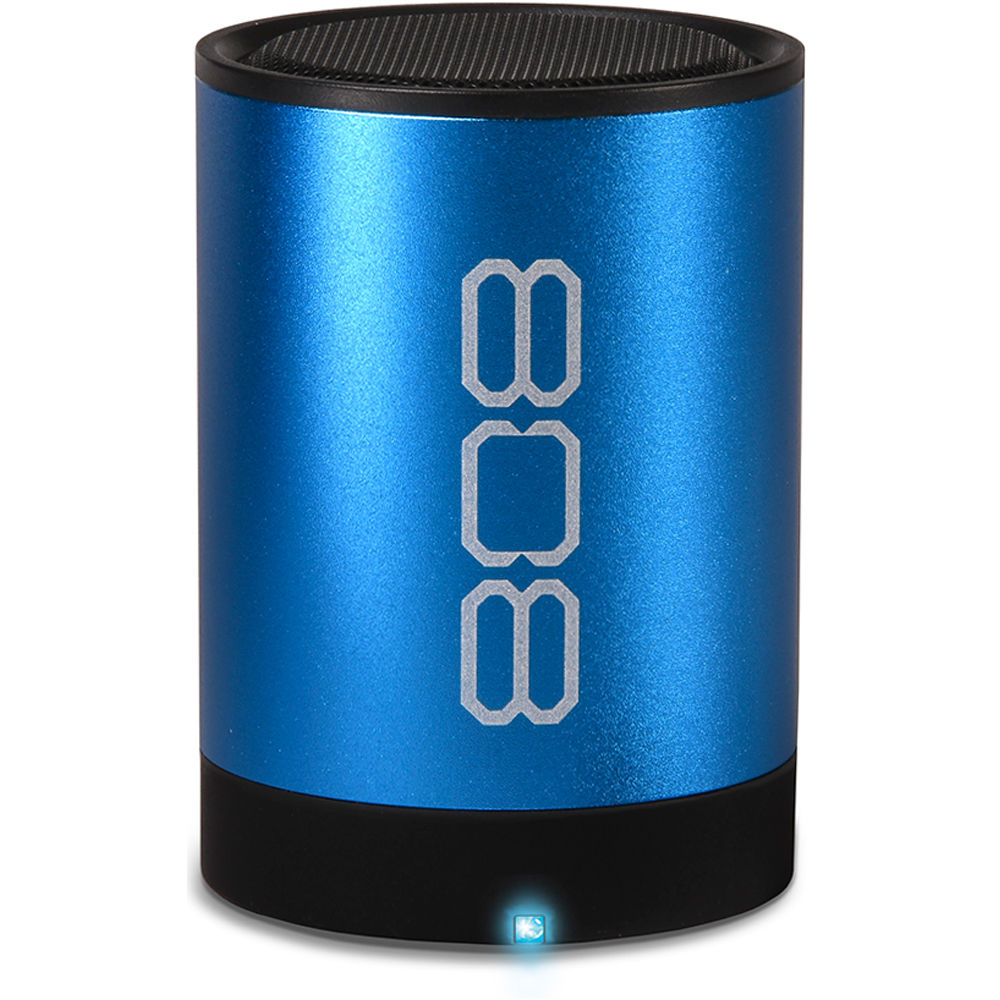 808 Audio Canz2 Portable Wireless Bluetooth Speaker Sp881bl Bh Time Integrated Electronic Doorbell Without Transformer Blue