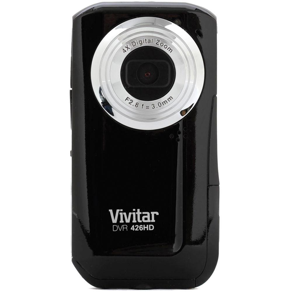vivitar dvr 426hd digital video recorder  black  dvr426hd