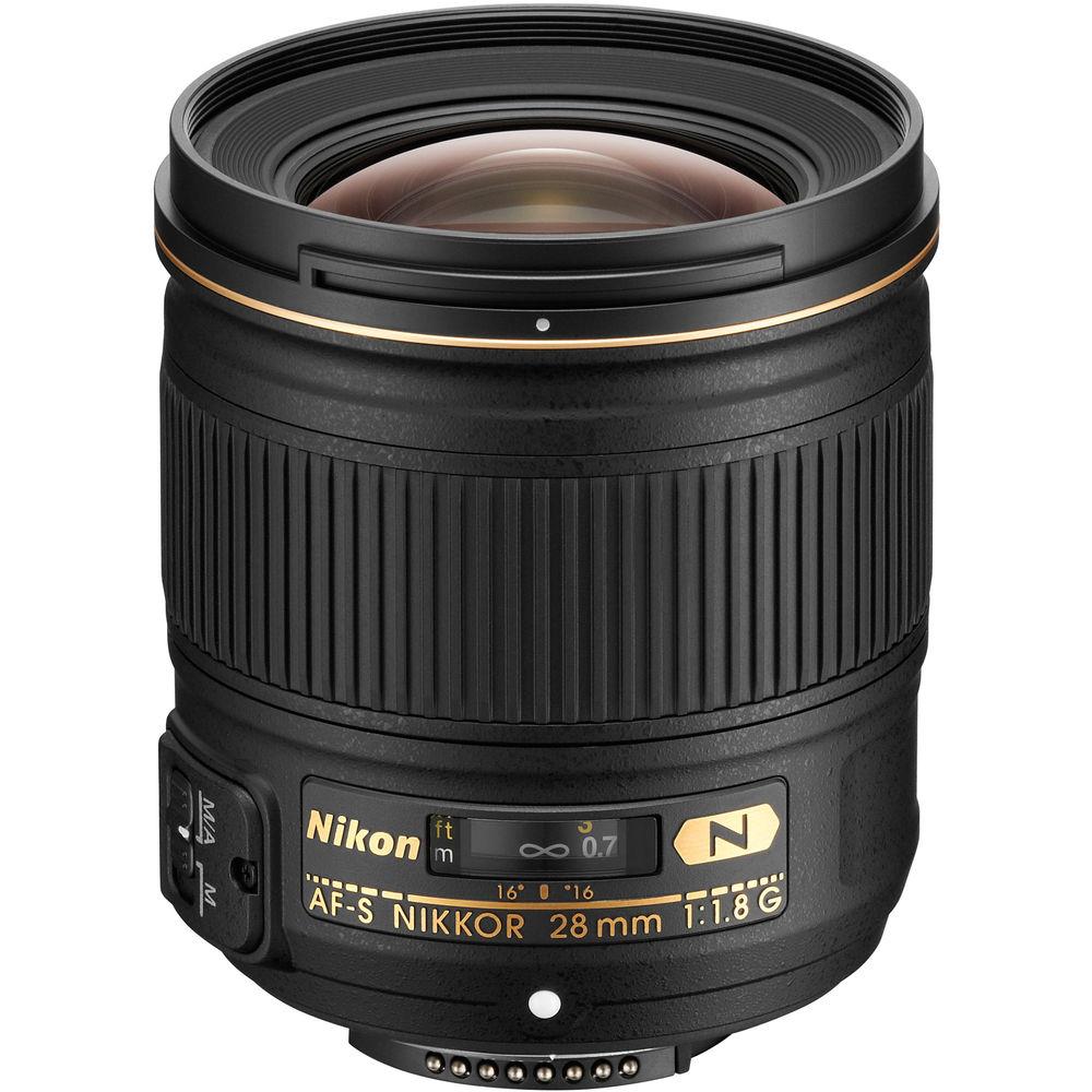 image of Nikon AF-S 28mm f/1.8G