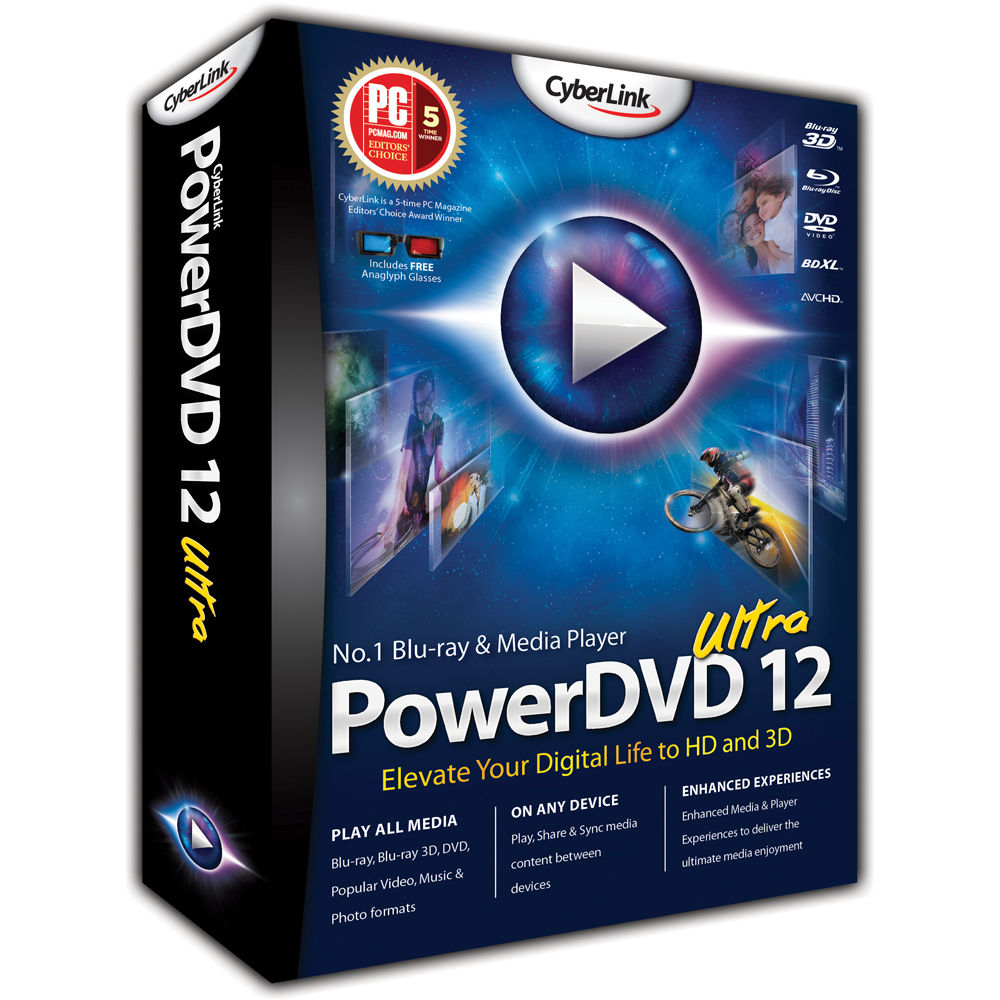 Cyberlink power dvd studio professional hd quality v10 9 ultra multilanguage x32 x64 pre register