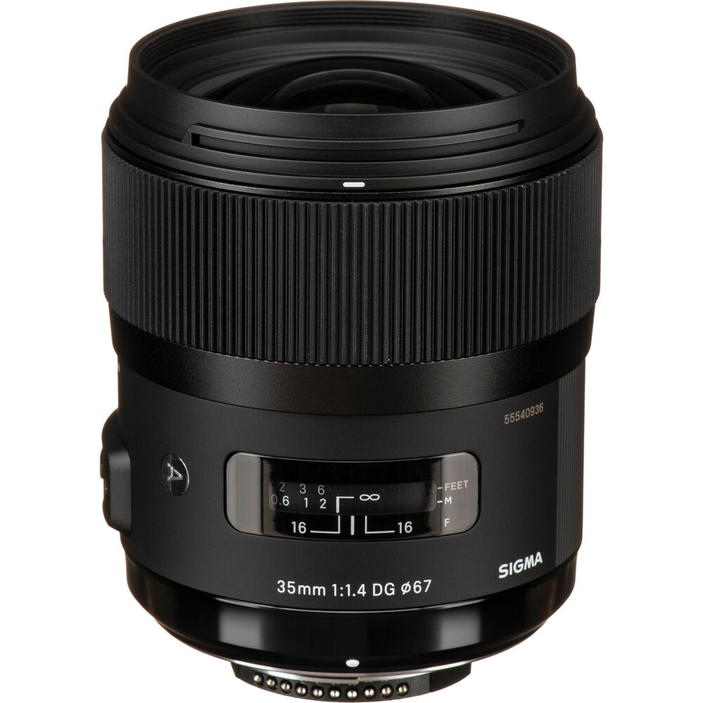 image of Sigma 35mm f/1.4 DG HSM Art