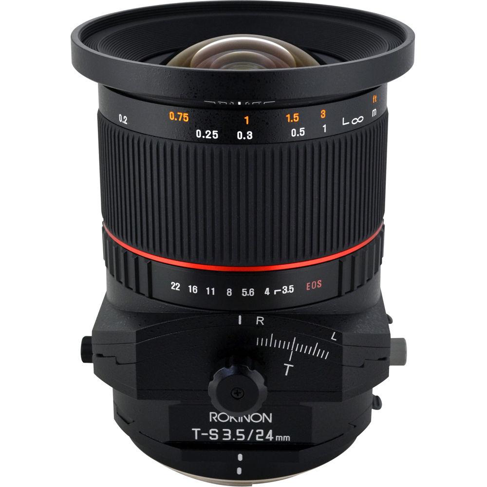 image of Rokinon 24mm f/3.5 Tilt-Shift