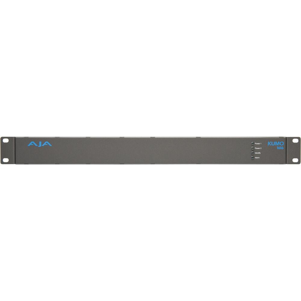 AJA KUMO 1616 Compact 3G-SDI Router (1 RU)