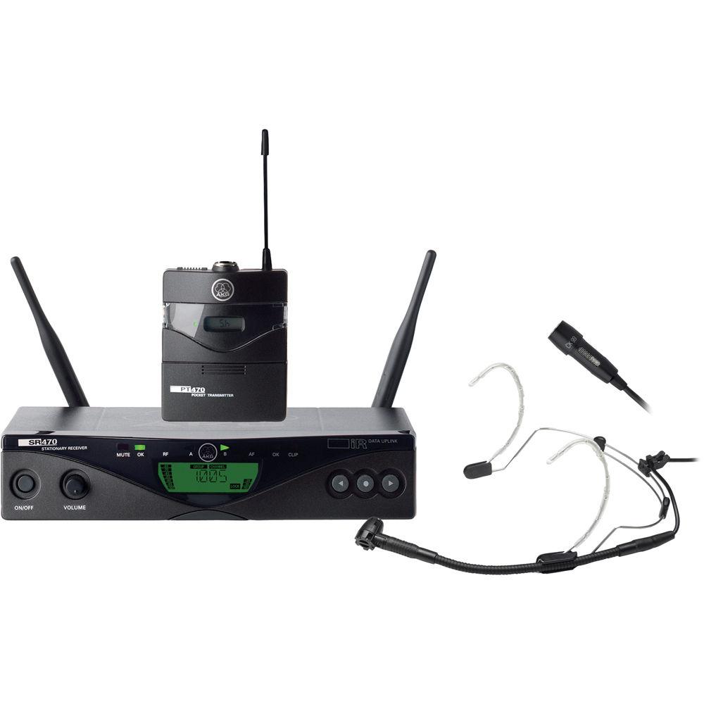 Akg Wms 470 Presenter Set Wireless Microphone System
