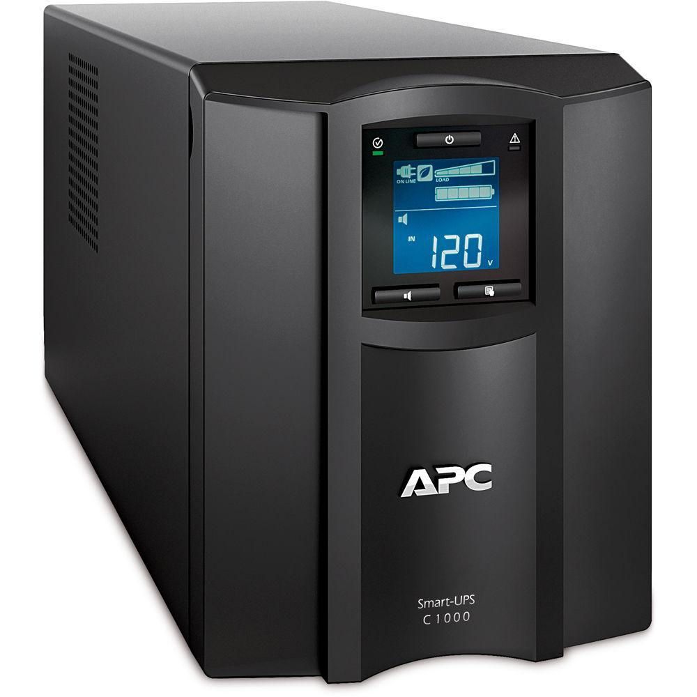 APC SMC1000 Smart-UPS C 1000VA with LCD (120V) SMC1000 B&H ...