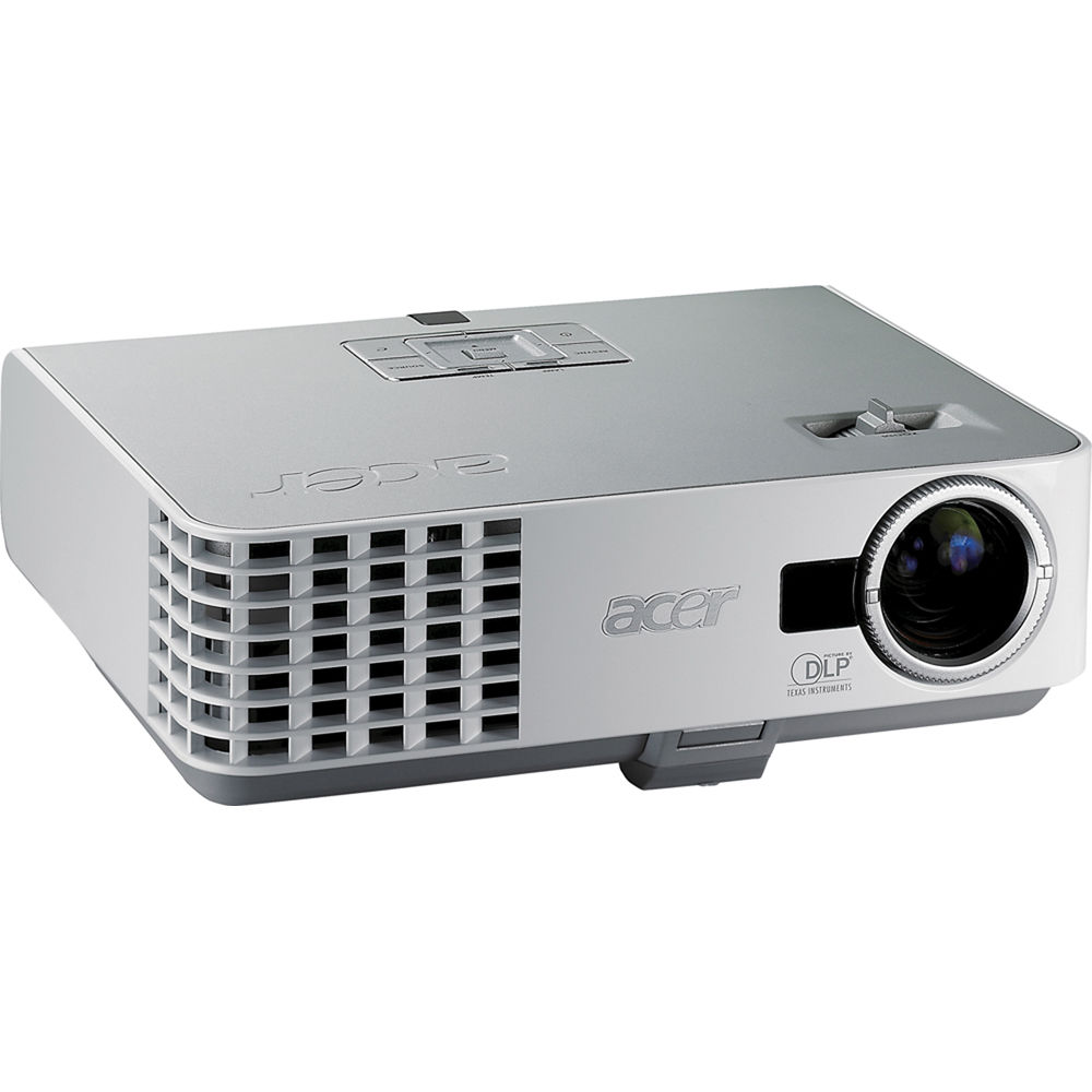 Acer p3250 xga ultra portable dlp projector ey b h for Dlp portable projector