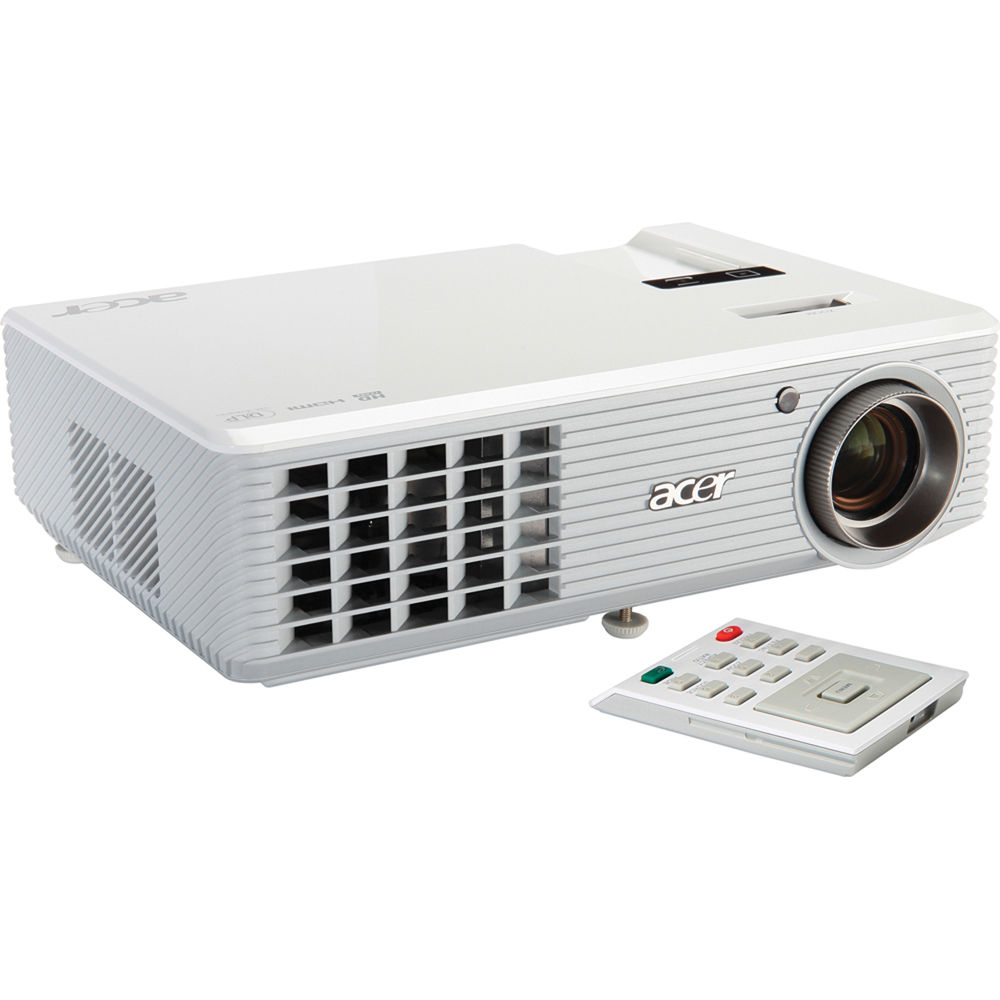 Acer h5360 3d dlp projector ey b h photo video for Dlp micro projector