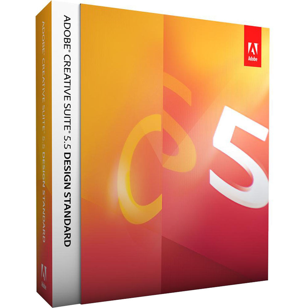 Adobe creative suite 5.5 design premium european retail iso core