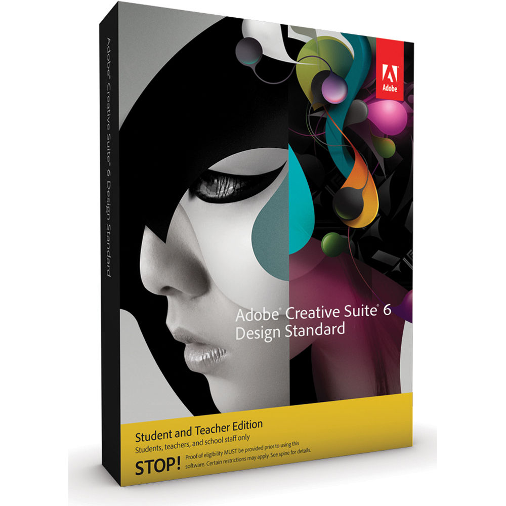 Adobe creative suite 6 design standard buy now