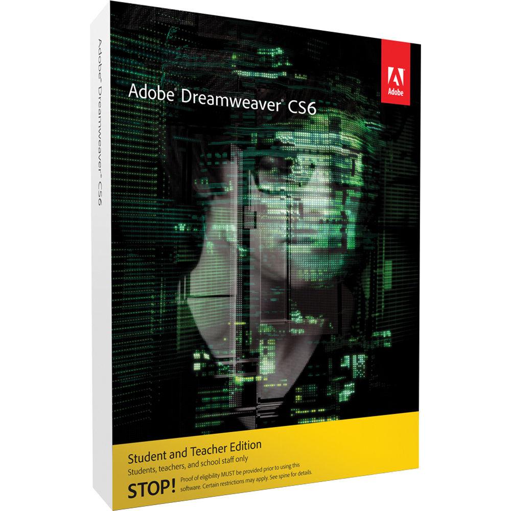 Dreamweaver Cs6 Student And Teacher Edition Price