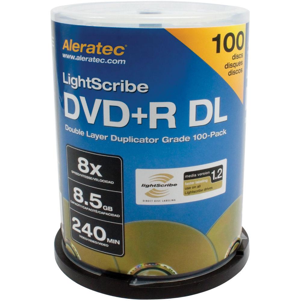 aleratec dvd r dl double layer 8x lightscribe duplicator. Black Bedroom Furniture Sets. Home Design Ideas