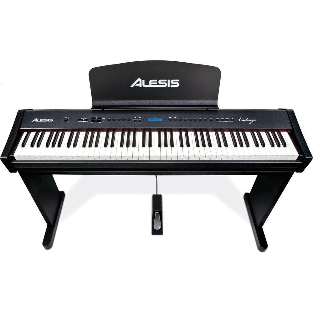alesis cadenza 88 key hammer action digital piano cadenza b h. Black Bedroom Furniture Sets. Home Design Ideas