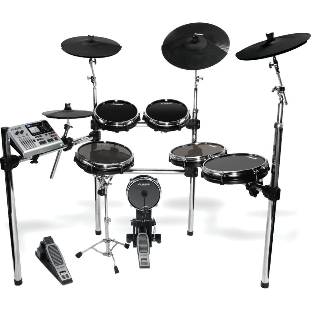 alesis dm10 x kit six piece electronic drum set dm10 x kit b h. Black Bedroom Furniture Sets. Home Design Ideas