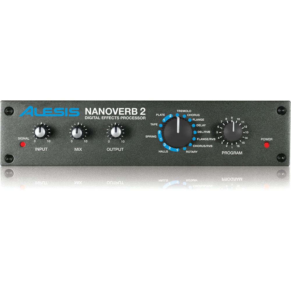 alesis nanoverb 2 digital effects processor nanoverb 2 b h. Black Bedroom Furniture Sets. Home Design Ideas