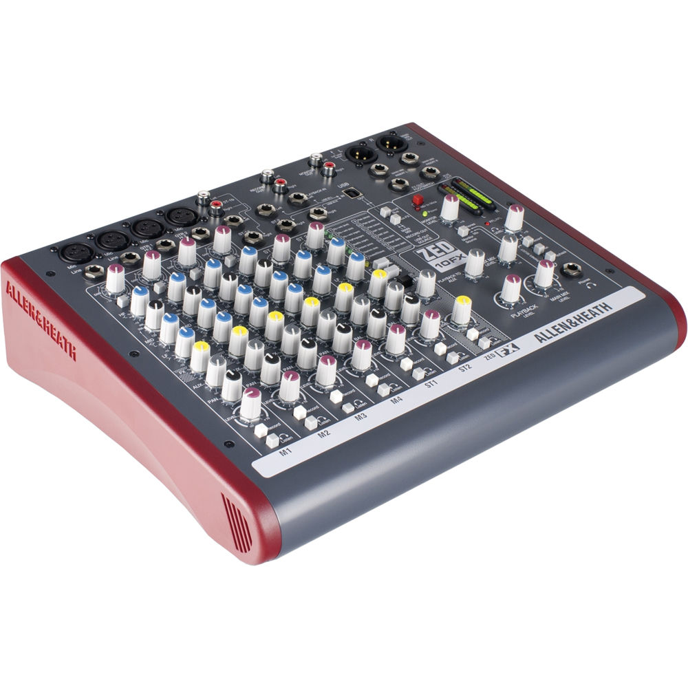 Multi Purpose Mixer ~ Allen heath zed fx multi purpose miniature mixer ah