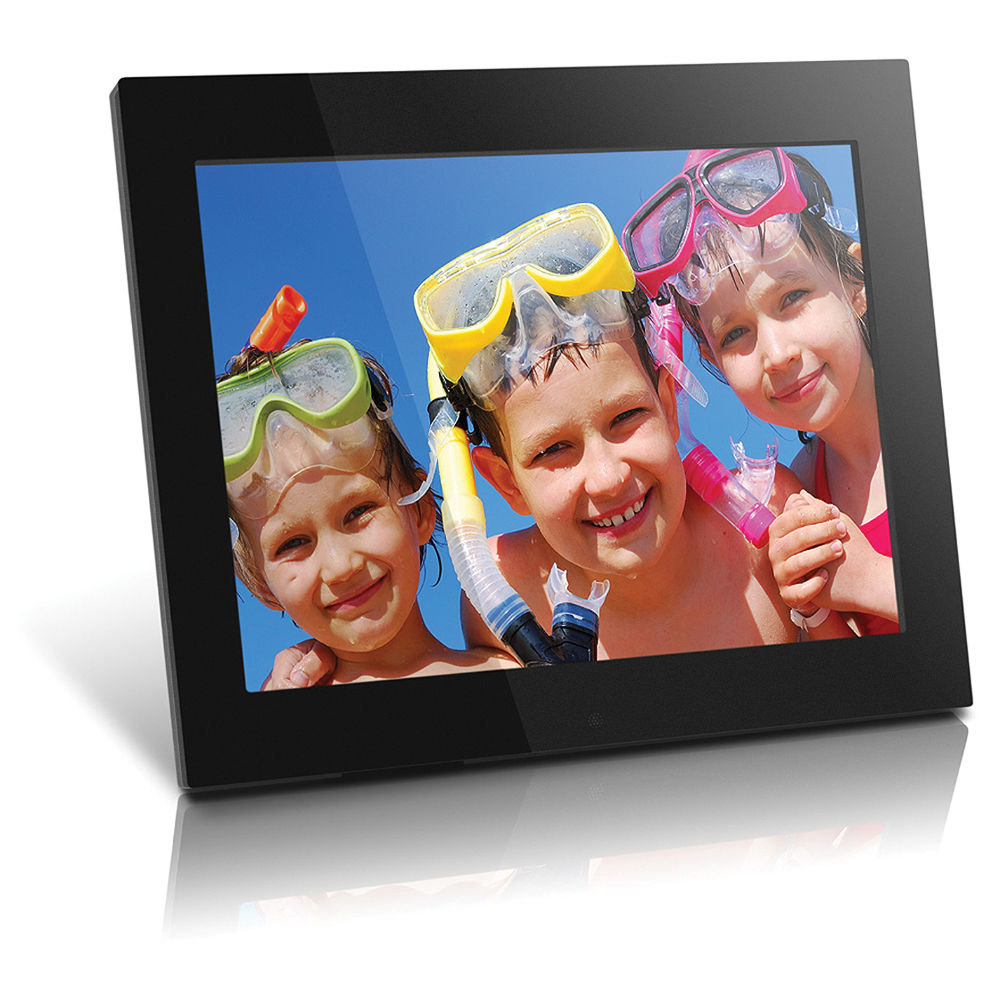 Amazoncom  15 inch HD Digital Picture Frame Carbon Fiber