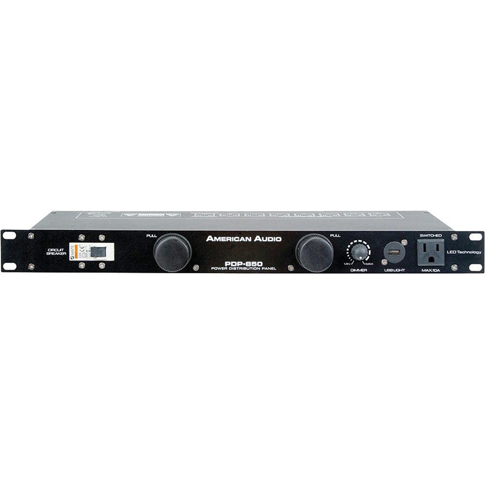 American Audio PDP-850 Power Distribution Panel PDP-850 B&H