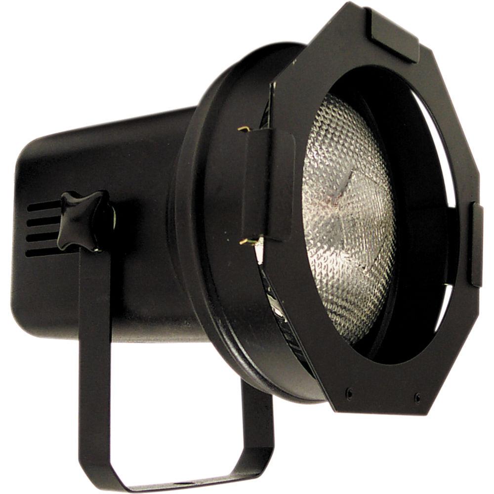 american dj par38 spot w lamp black 120 vac par 38bl b h