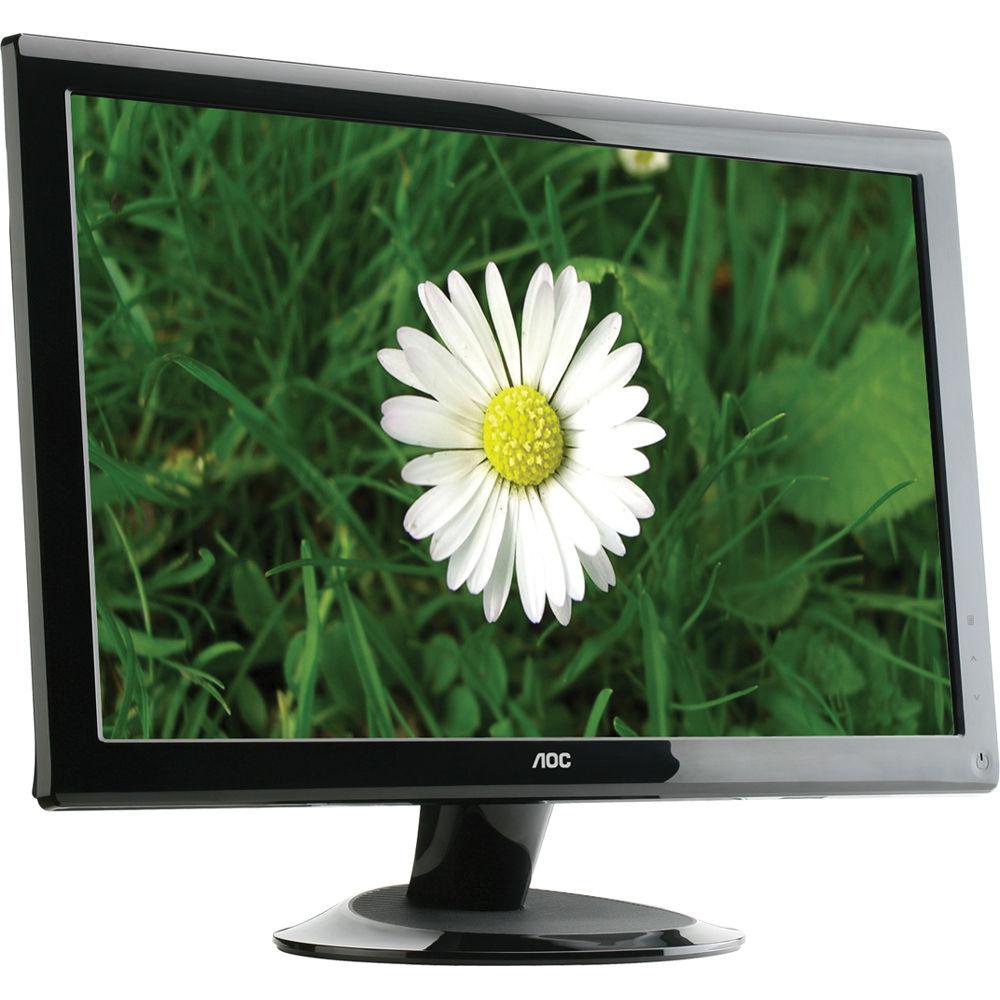 aoc 2436vwh 24 lcd hd widescreen monitor 2436vwh b h photo rh bhphotovideo com User Manual PDF User Guide
