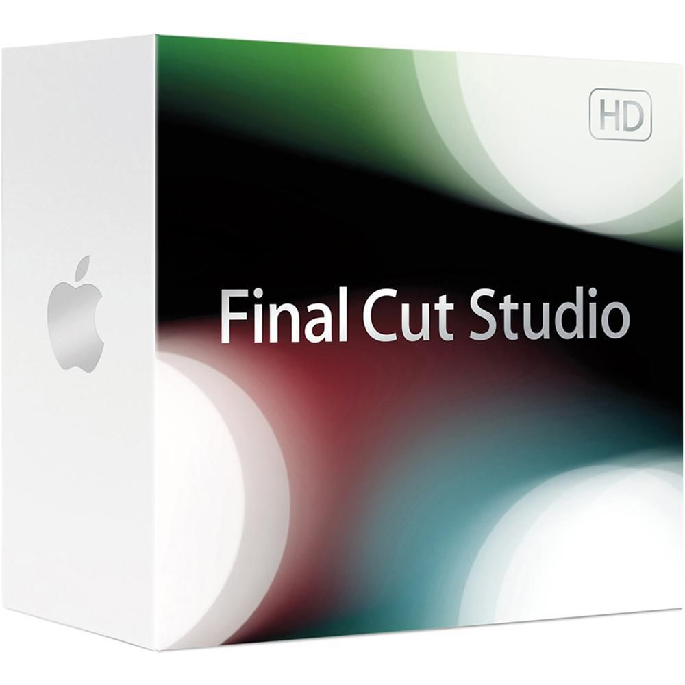 apple final cut studio 3 upgrade mb643z a b h photo video rh bhphotovideo com Final Cut 7 Icon Final Cut Studio Windows 7