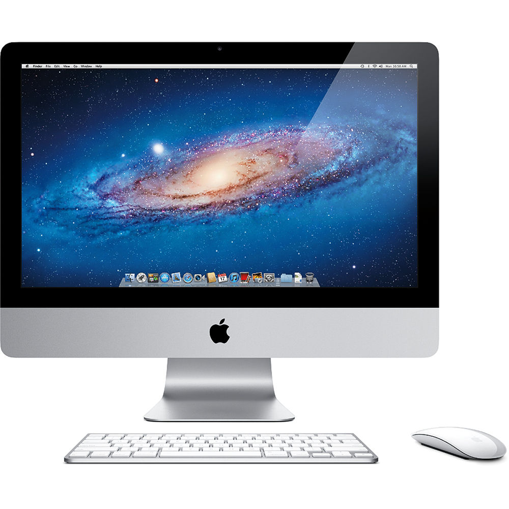 apple 21 5 imac desktop computer mc309ll a b h photo video. Black Bedroom Furniture Sets. Home Design Ideas